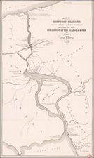 Map By W. C. Johnson  &  Peter A. Porter