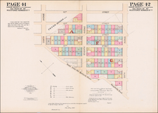 New York City Map By Joseph Bridges / Spielmann & Brush / Charles Henry Hall