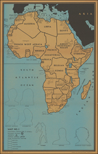 Africa Map By Francis Raymond Elms