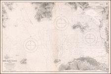 Hong Kong Map By British Admiralty