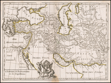 Turkey, Central Asia & Caucasus, Persia and Turkey & Asia Minor Map By George Louis Le Rouge