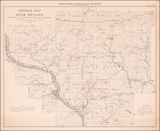 Wisconsin Map By Geological Survey of Wisconsin
