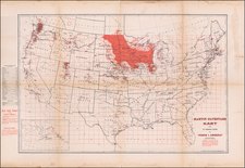United States and Minnesota Map By Martin Ulvestad