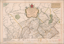 Pennsylvania Map By Anonymous