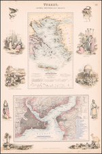 Turkey; Central Mediterranean Regions (and) Constantinople . . . By Archibald Fullarton & Co.