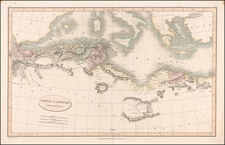 Mediterranean and North Africa Map By Charles Smith