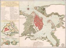 Cuba Map By Depot de la Marine