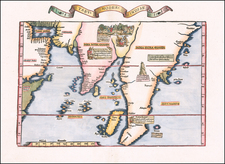 India, Southeast Asia, Malaysia and Other Islands Map By Lorenz Fries