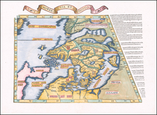 Baltic Countries, Scandinavia, Iceland, Sweden and Finland Map By Lorenz Fries