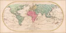 World Map By Mathais Albrecht Lotter
