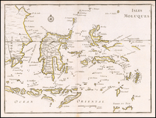 Indonesia Map By George Louis Le Rouge
