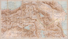 Russia, Central Asia & Caucasus and Turkey & Asia Minor Map By Edward Stanford