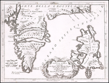 Polar Maps and Atlantic Ocean Map By Vincenzo Maria Coronelli