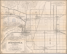 Other California Cities Map By Automobile Club of Southern California