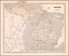Michigan By Sidney Morse  &  Samuel Breese
