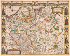 Poland and Baltic Countries Map By John Speed