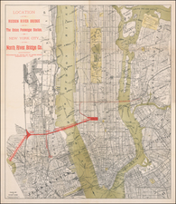 New York City Map By Gaylord Watson