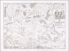 Russia Map By Joseph Nicholas De  L'Isle  &  Russian Academy of Sciences  &  Ivan Grimmel