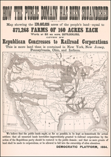 United States, Midwest, Plains and Rocky Mountains Map By Rand McNally & Company