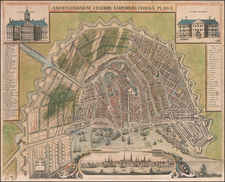 Amsterdam Map By Anonymous / Claes Janszoon Visscher