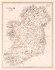Ireland Map By Archibald Fullarton & Co.