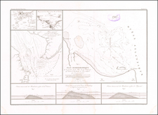 New Jersey and Delaware Map By Guillaume-Tell Poussin