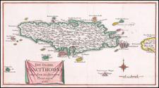 Virgin Islands Map By P. Kuffner
