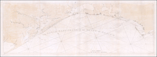 Florida, South, Alabama and Southeast Map By Joseph Frederick Wallet Des Barres