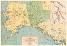 Alaska and Canada Map By Lowman & Hanford Stationery & Printing Company