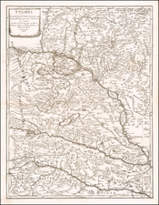 Hungary Map By Giacomo Giovanni Rossi