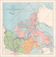 Canada and Western Canada Map By Canadian Department of the Interior