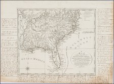 United States, Mid-Atlantic, South, Southeast and Midwest Map By Joseph Purcell