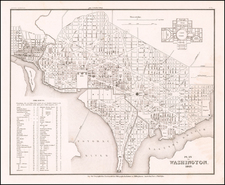 Washington, D.C. Map By Joseph Meyer