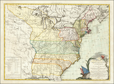 United States Map By Esnauts & Rapilly