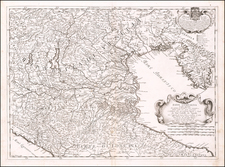 Northern Italy Map By Giacomo Giovanni Rossi