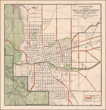 Colorado and Colorado Map By Frederick Law  Olmsted / Henry  A. Drumm