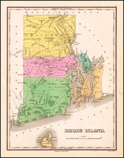 Rhode Island Map By Anthony Finley