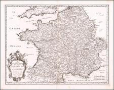 France Map By Giacomo Giovanni Rossi