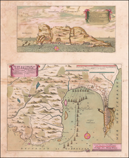 England and Spain Map By Pierre Husson