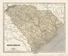 Southeast Map By Sidney Morse  &  Samuel Breese
