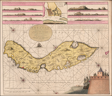 Caribbean and Other Islands Map By Gerard Van Keulen