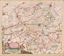 Belgium Map By Theodorus I Danckerts