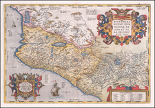 Mexico Map By Abraham Ortelius