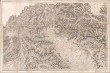 India and Central Asia & Caucasus Map By Surveyor General of India