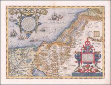 Palestinae Sive Totius Terrae Promissionis Nova Descriptio Auctore Tilemanno Stella Sigenensi By Abraham Ortelius