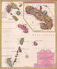 Other Islands and Martinique Map By Reiner & Joshua Ottens