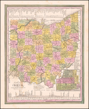 Ohio Map By Henry Schenk Tanner