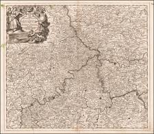 Germany Map By Theodorus I Danckerts