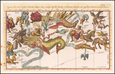 Celestial Maps Map By Stanislaus Lubieniecki