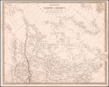 Alaska and Canada Map By SDUK